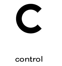 Control Yuan的英文字首C