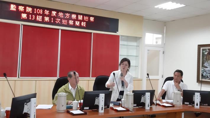 監察委員林雅鋒、江明蒼於108年9月23、24兩日巡察連江縣,聽取縣政概況