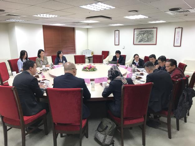 印尼海外勞工安置暨保護局拜會監察院