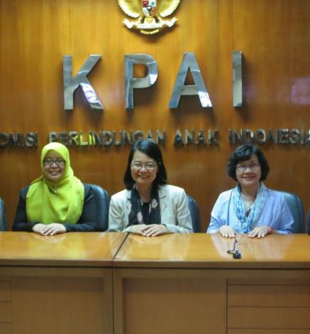 監委拜會印尼國家兒童保護委員會的委員Margaret Aliyatul Maimunah