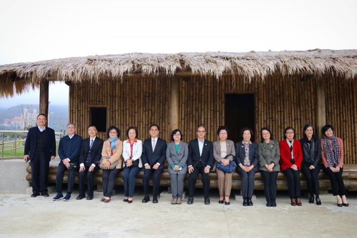監察院教育及文化委員會巡察十三行博物館考古公園