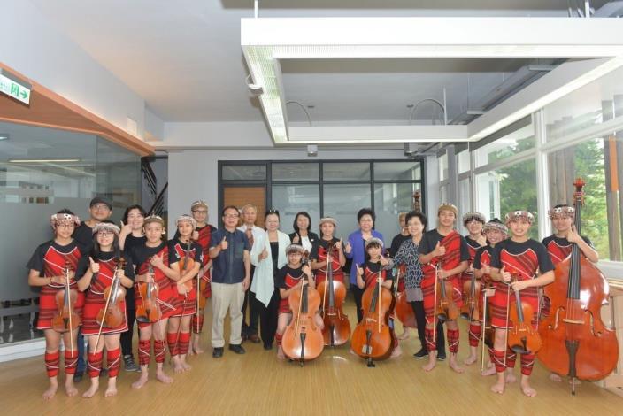 監察院教育及文化委員會參訪中興新村親愛愛樂實驗學校