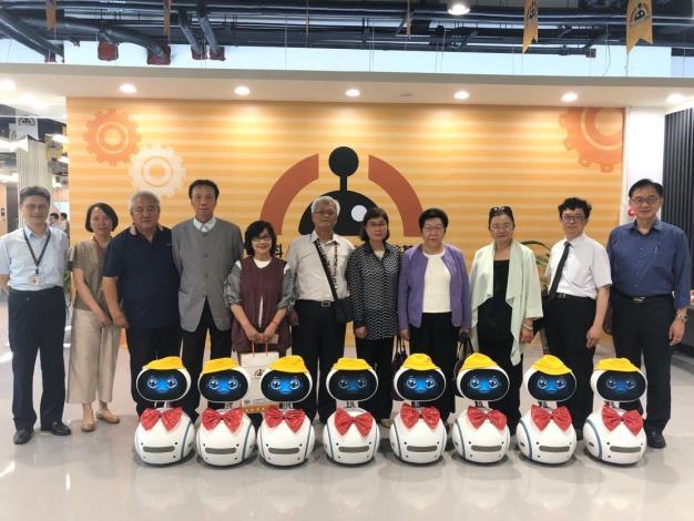 監察院教育及文化委員會巡察AI_Robot 自造基地
