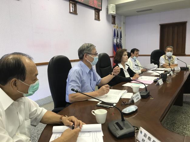 監察委員蔡培村、劉德勳聽取宜蘭縣政簡報並進行討論