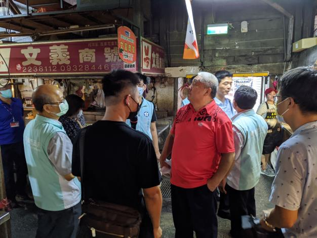 監察委員巡察嘉義市東市場歷史建築修復計畫執行情形