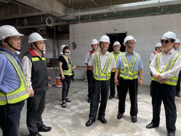109年7月2日監察院交通及採購委員會巡察南竿航空站航廈擴建工程