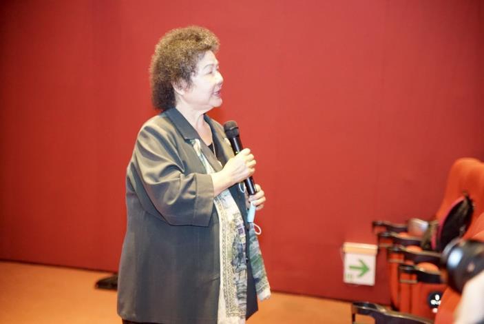 國家人權委員會舉辦「人權電影賞析—我的兒子是死刑犯」,監察院院長陳菊於放映前發表感言