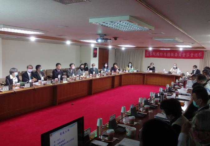 本院國防及情報委員會110年2月5日巡察退輔會本部綜合座談。