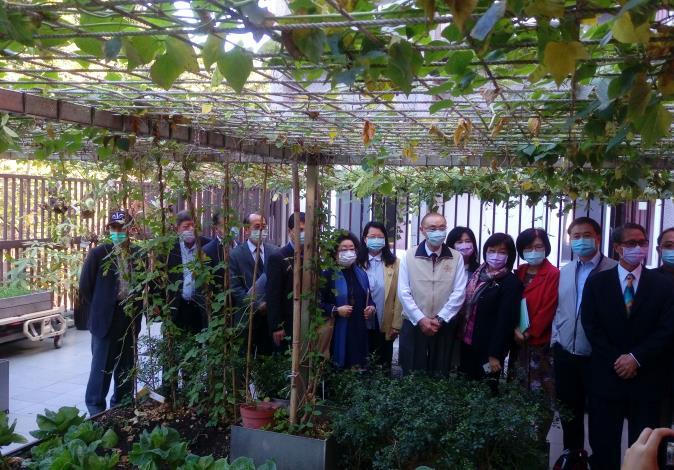 本院國防及情報委員會110年2月5日參訪退輔會板橋榮家失智復能設施。(開心農場)
