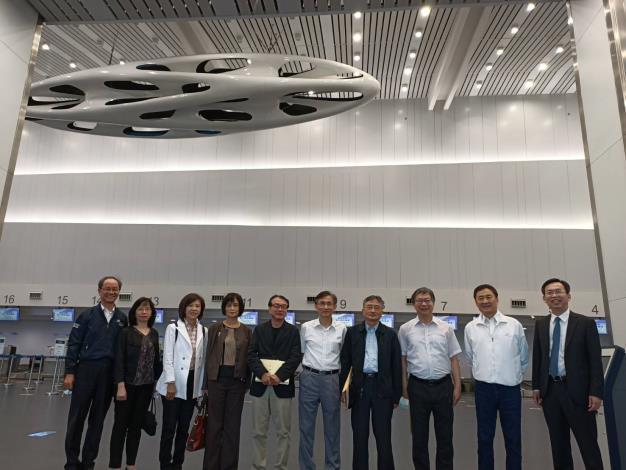 交通及採購委員會110年4月27日巡察臺中國際機場