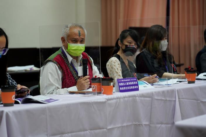 國家人權委員會權Hub交流站座談會實景。