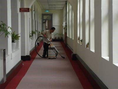 辦公室公共走廊吸塵