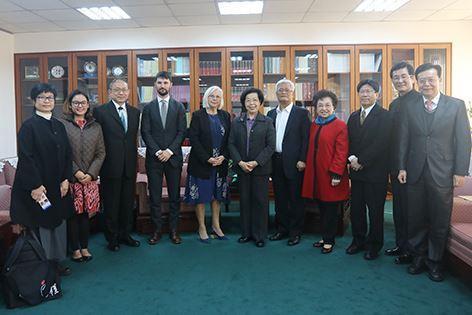 活01-紐西蘭國家人權委員會前主任委員Noonan女士等拜會監察院