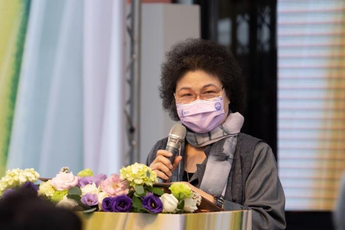 。監察院院長兼國家人權委員會主委陳菊致詞