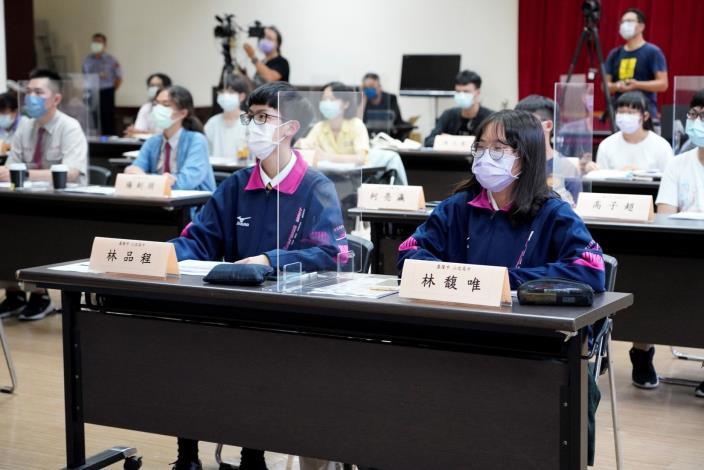 國家人權委員會舉辦CRC兒少分區座談會實景。