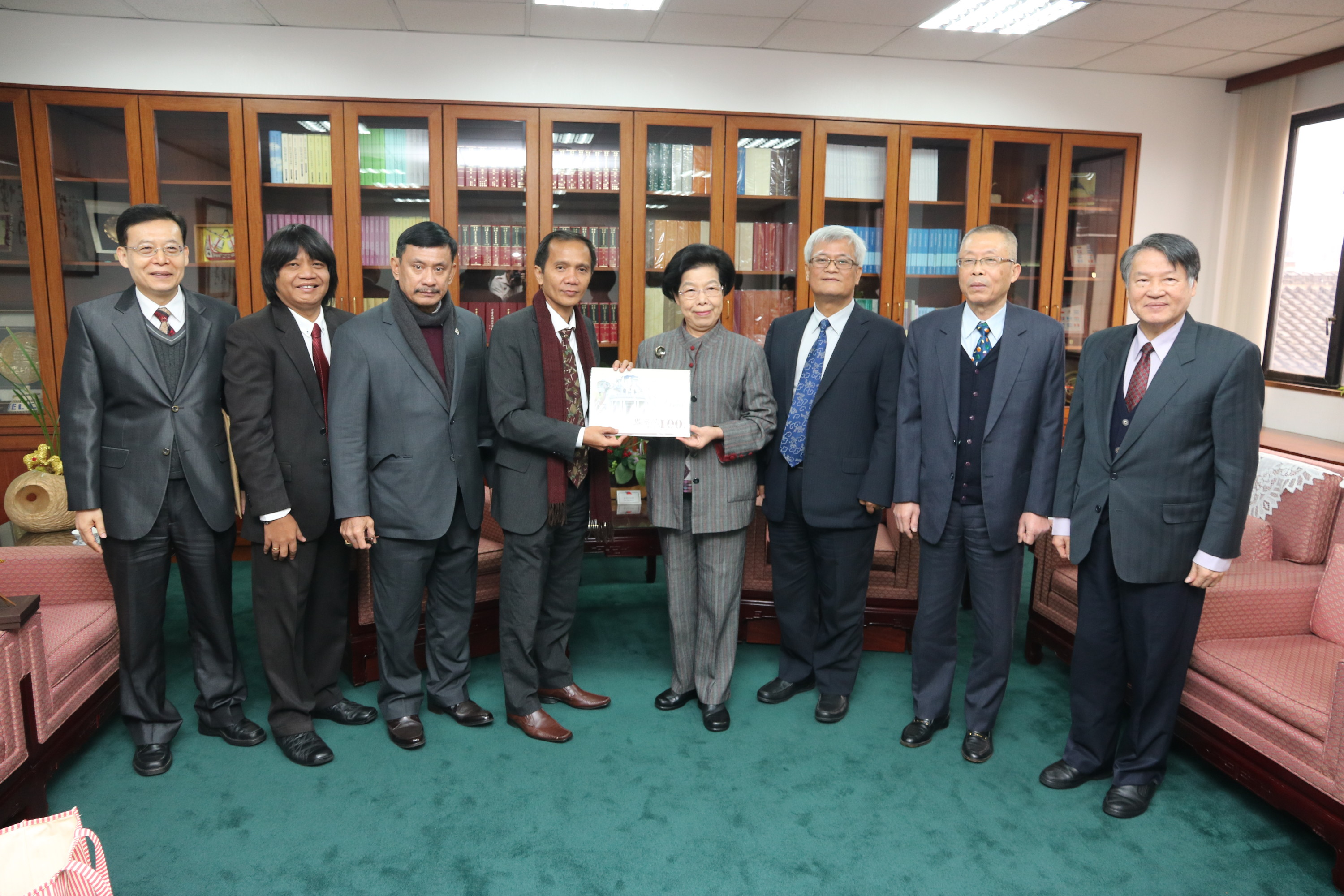 Chairperson of Indonesian National Human Rights Commission visits the Control Yuan