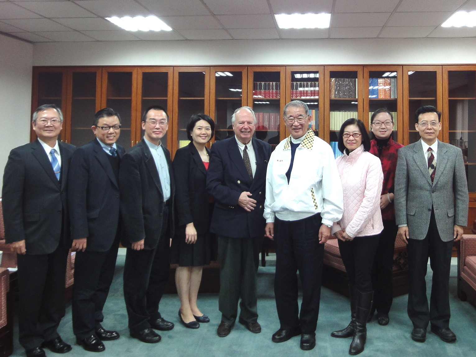 President of Association of World Citizens Visits the Control Yuan