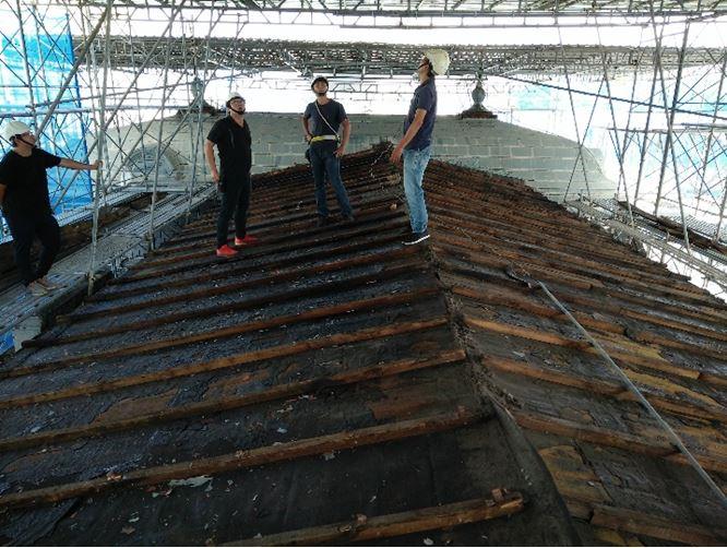 檢修屋面板