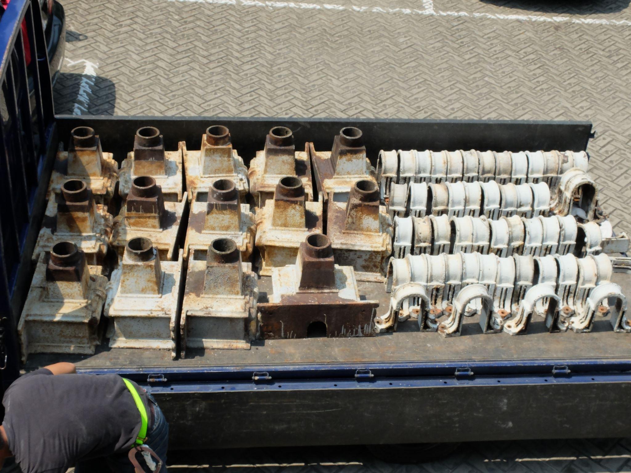 外牆排水管零件整理